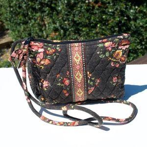 Vera Bradley Chocolat Crossbody Bag Vintage Small